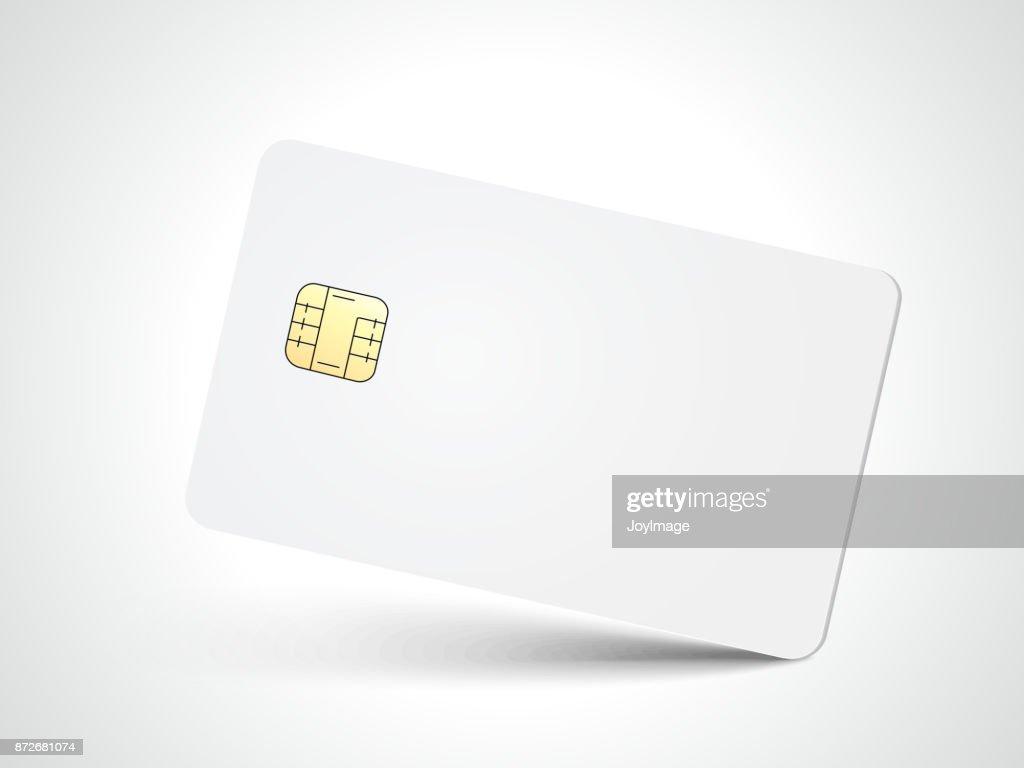 blank chip card