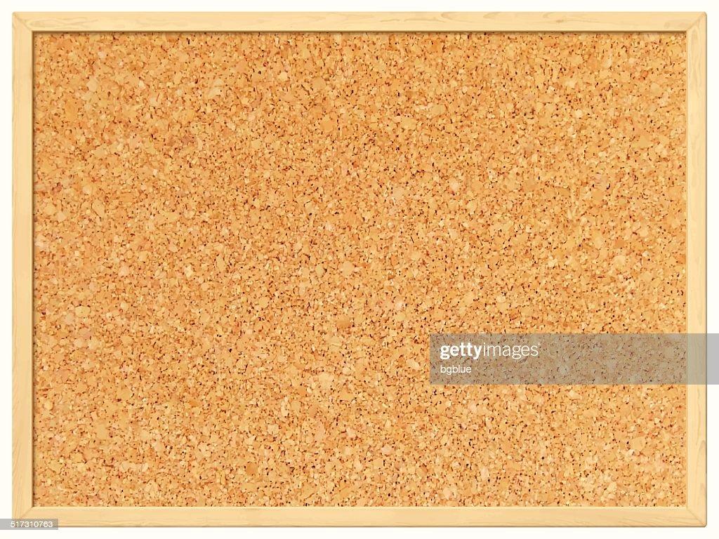 Blank Cork Board - Cork Background