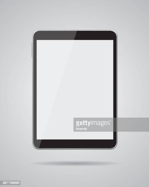tablet digital em branco