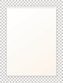 Blank empty album notepad format A4 for drawing