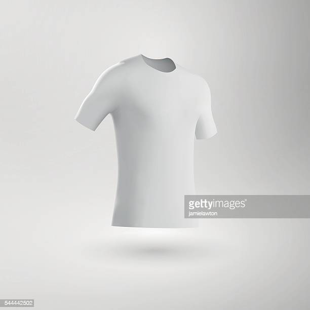 Blank Football Shirt / Soccer Shirt / Fitted T-Shirt Tee