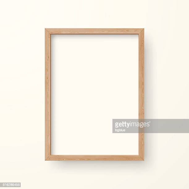 blank frame on white background - no people stock illustrations
