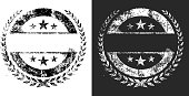 Blank Grunge black and white vector graphics