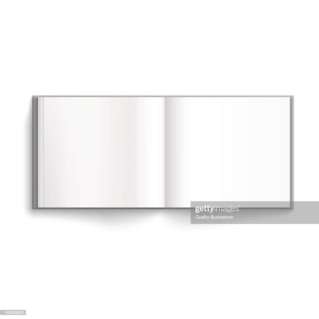 Blank hardcover album