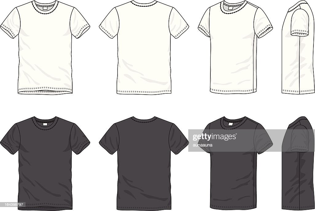 blank men's t-shirt