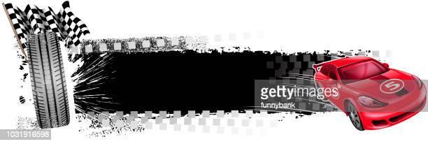 blank motorsport banner