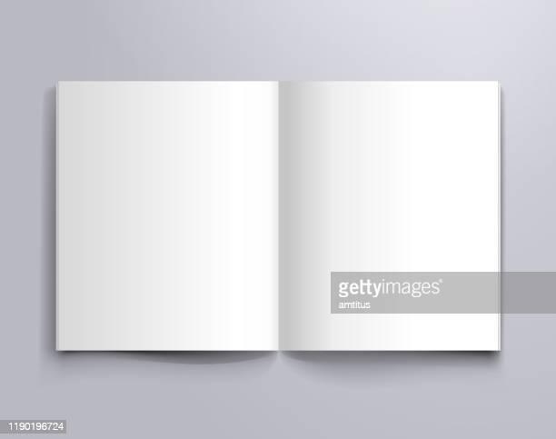 blank notebook - blank stock illustrations