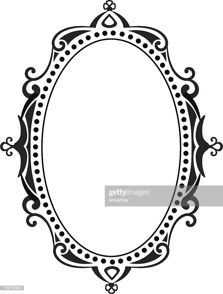 blank ornate frame