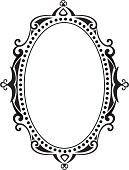 blank ornate frame