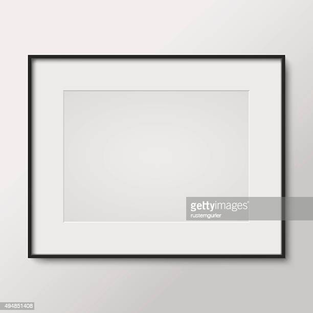 blank photo frame - picture frame stock illustrations