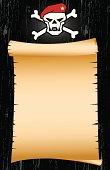 Blank Pirate Map Art