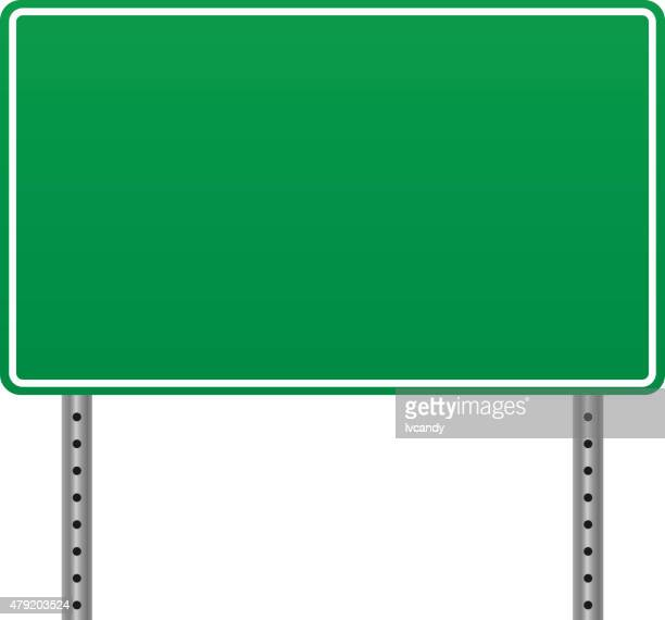 blank road sign - road sign stock illustrations