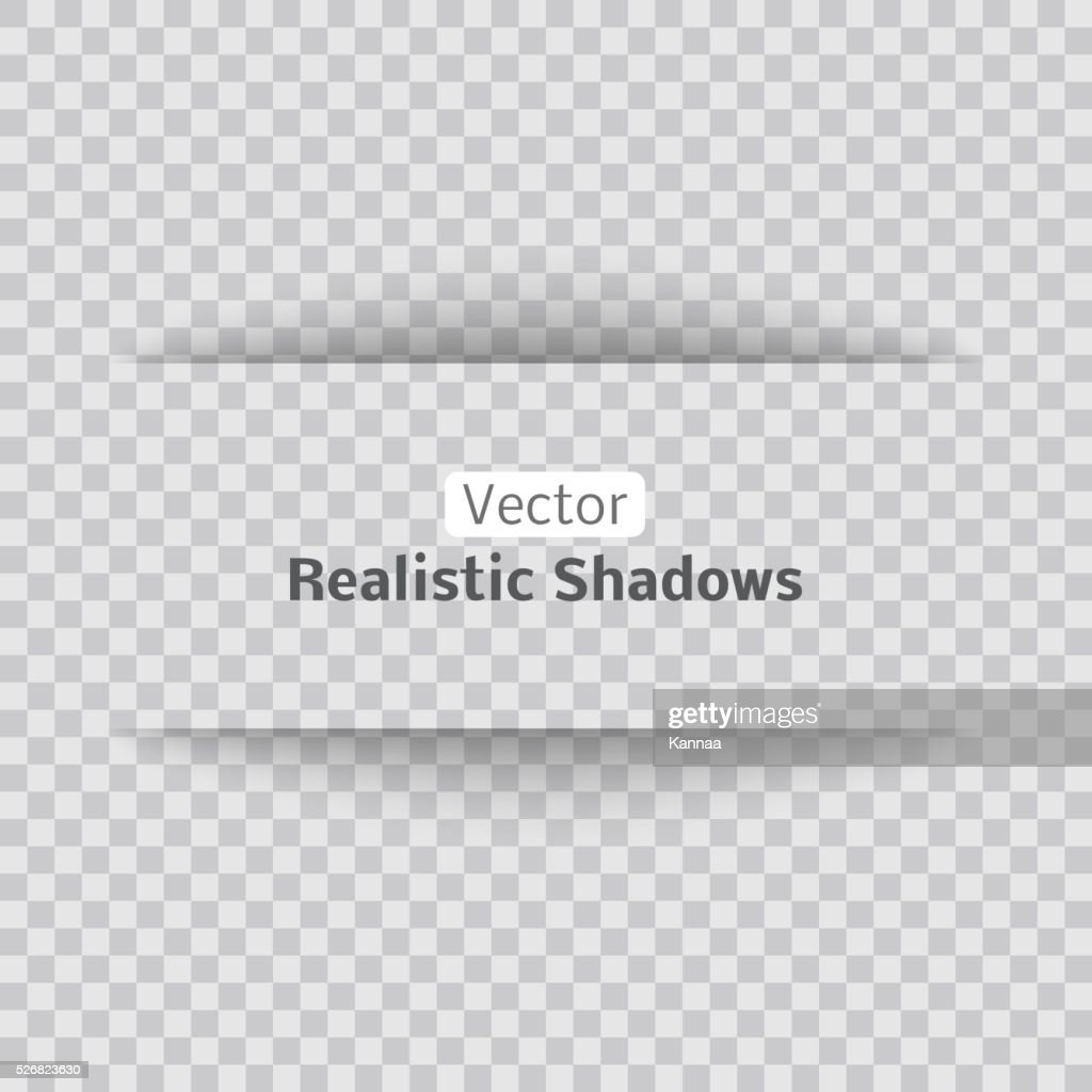 Blank sheet of paper with page curl and shadow, design