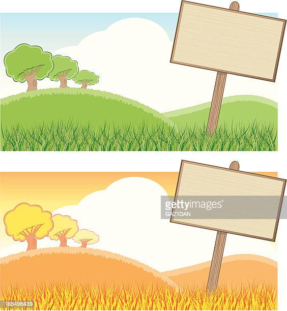 Blank Sign Backgrounds