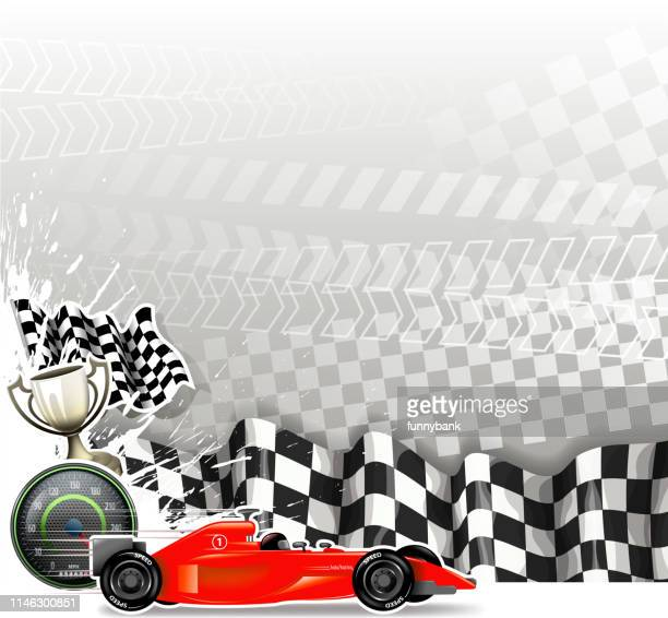 blank speed sign - go carting stock illustrations, clip art, cartoons, & icons