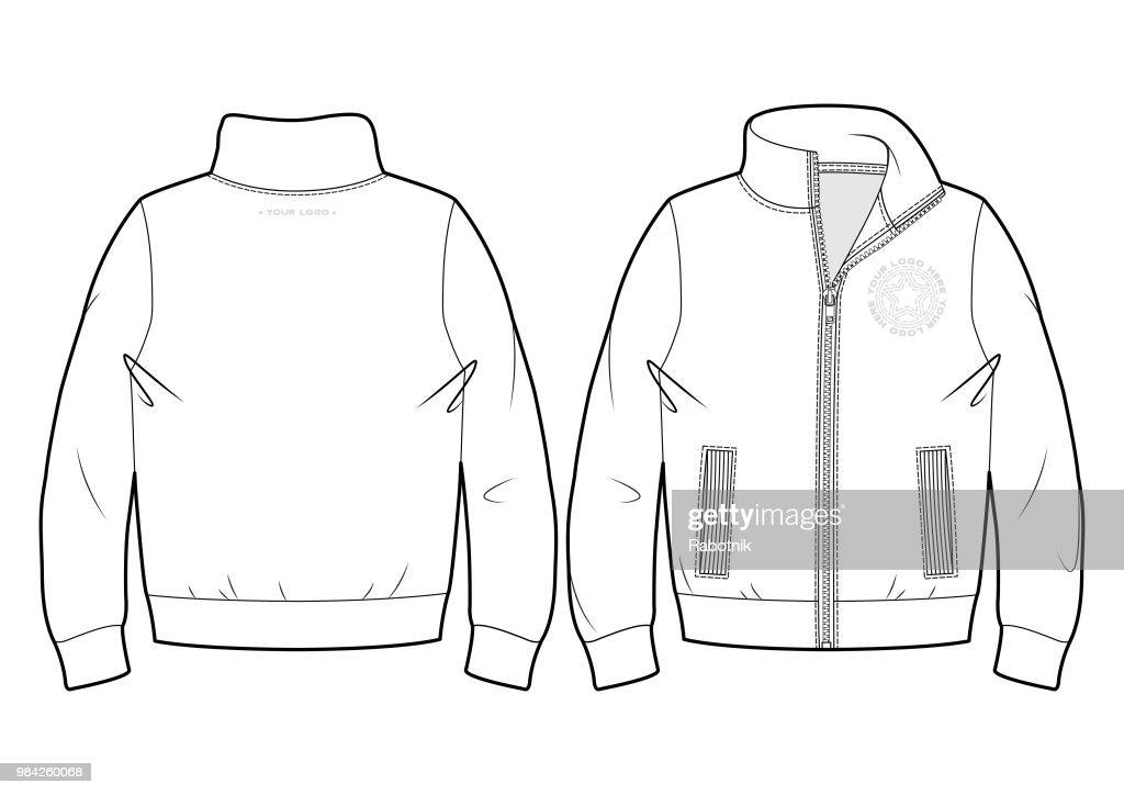 Blank sport sweatshirt