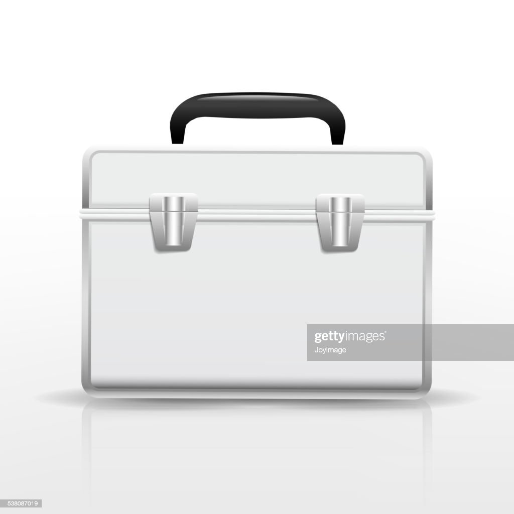 blank suitcase
