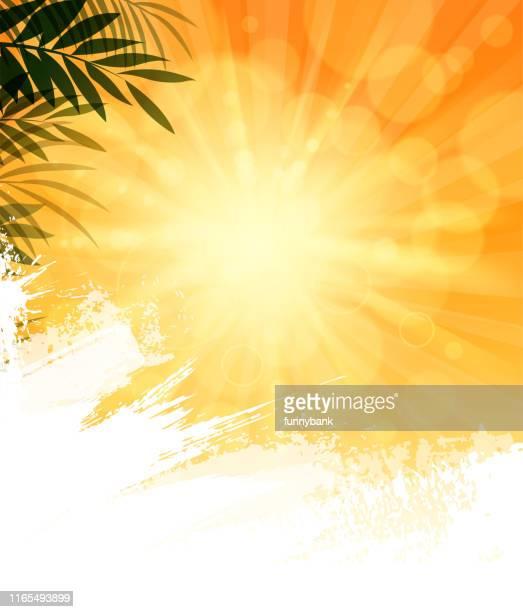 blank sunny sky - sunny stock illustrations