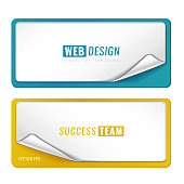 Blank template label