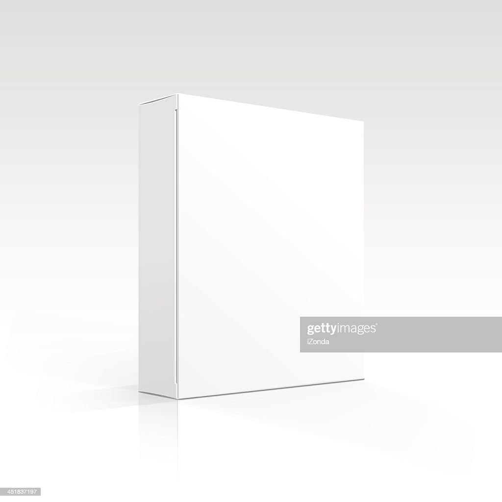 A blank, white box on a white background