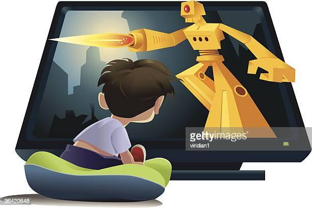 ilustraciones, imágenes clip art, dibujos animados e iconos de stock de blastocitos de televisión - maltrato infantil