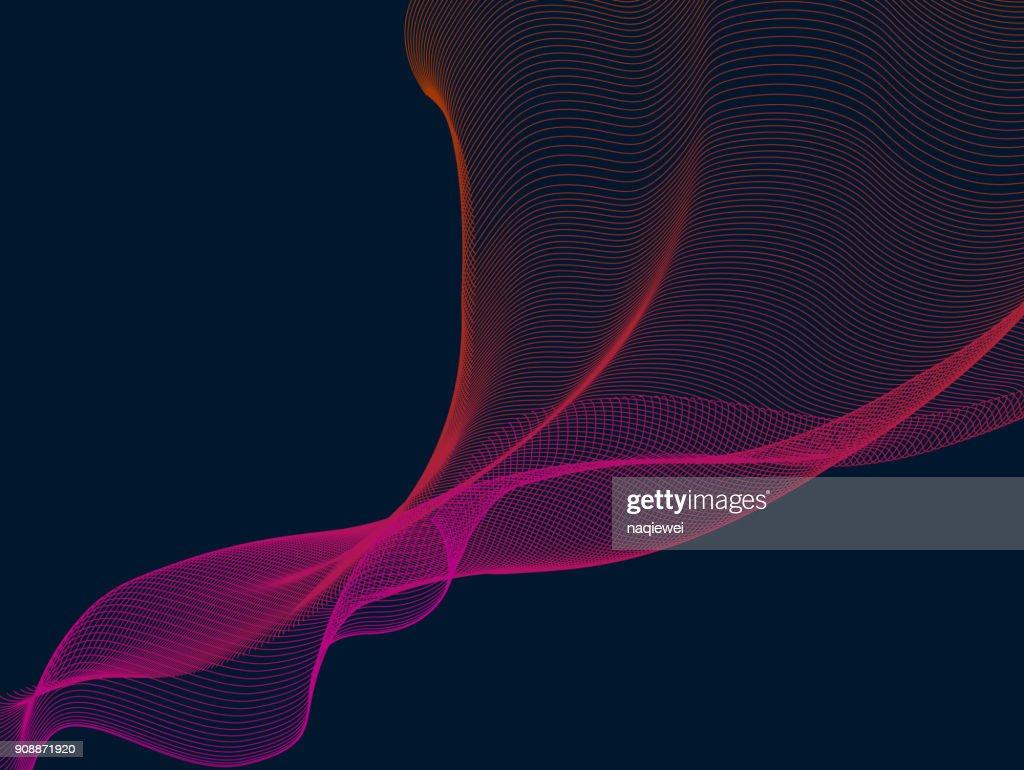 blend line pattern technology background : stock illustration
