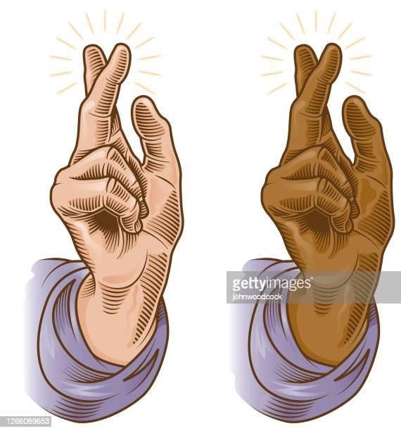 祝福の象徴的な手のイラスト - 偶像点のイラスト素材/クリップアート素材/マンガ素材/アイコン素材