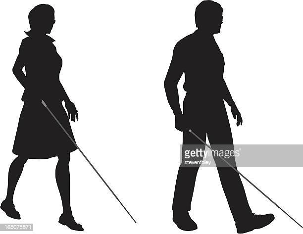 World S Best Blind Persons Cane Stock Illustrations