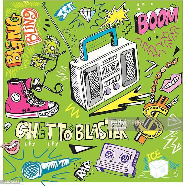 bling doodles - bling bling stock illustrations, clip art, cartoons, & icons