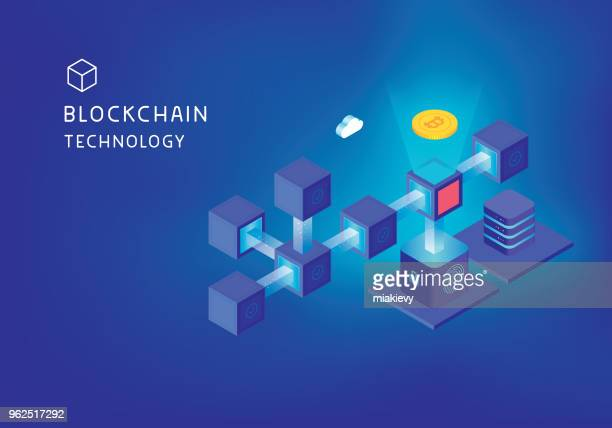 Blockchain technology concept