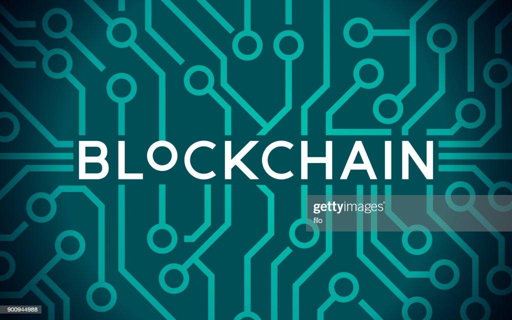 Blockchain : stock illustration