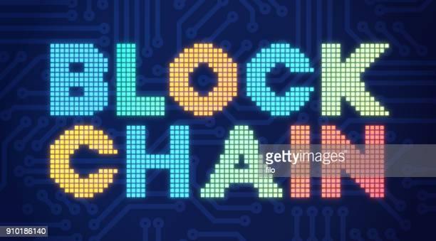 blockchain - validation stock illustrations, clip art, cartoons, & icons