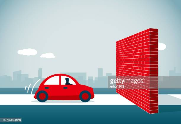 blocking - surrounding wall stock illustrations