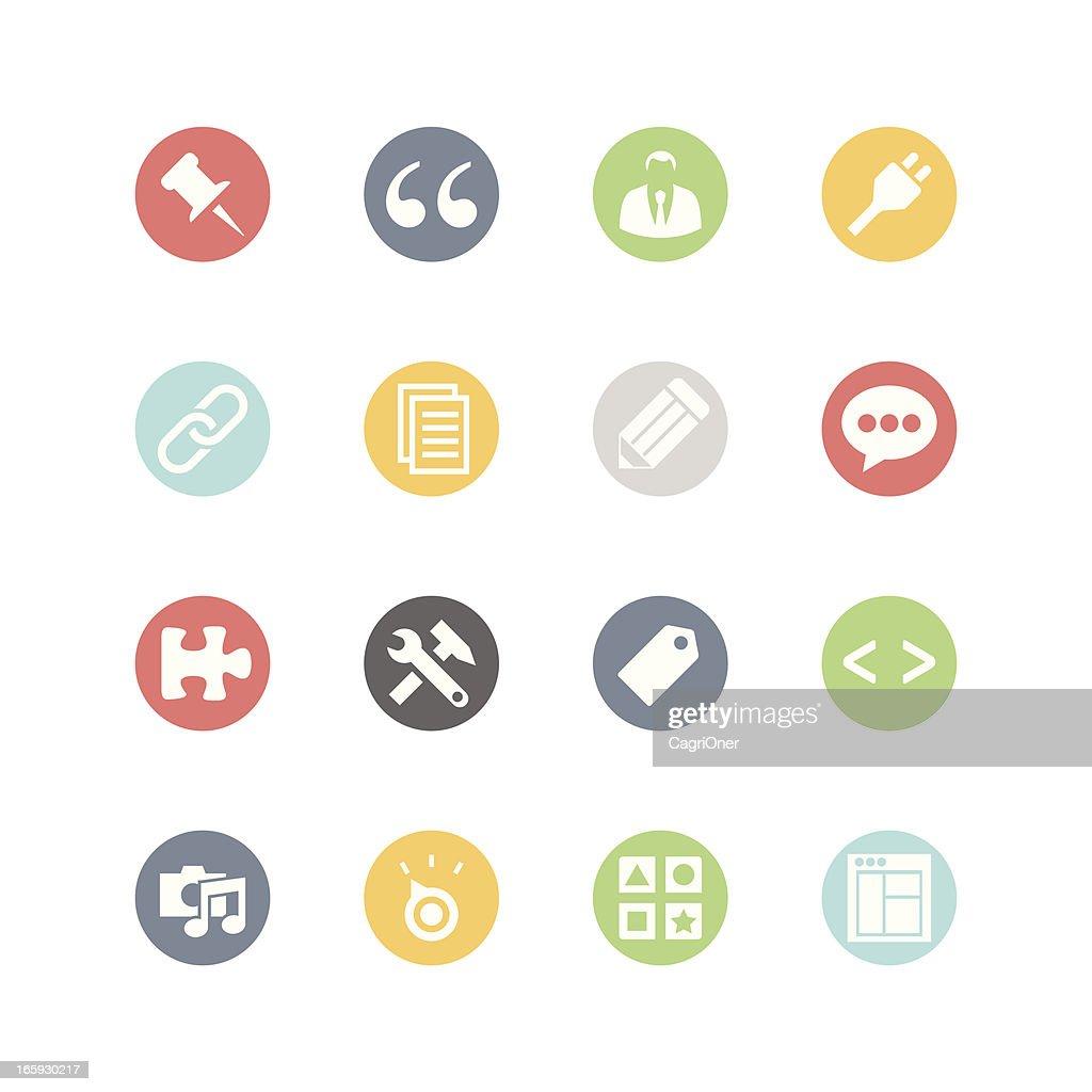 Blog Admin Icons : Minimal Style