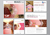 Blog graphic business templates. Page website design template, abstract vector