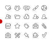 Blog Icons // Red Point Series