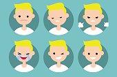 Blonde pale man profile pics