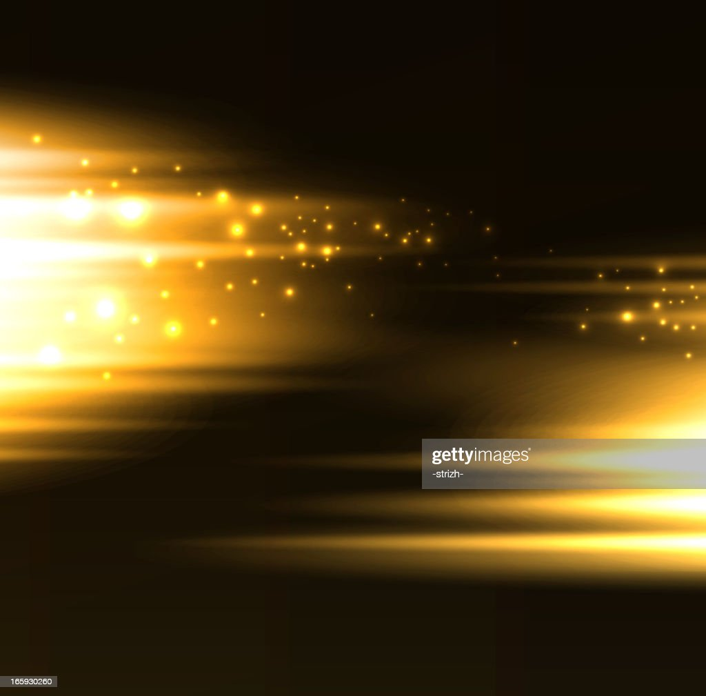 Blonde twinkle bright blurred light background