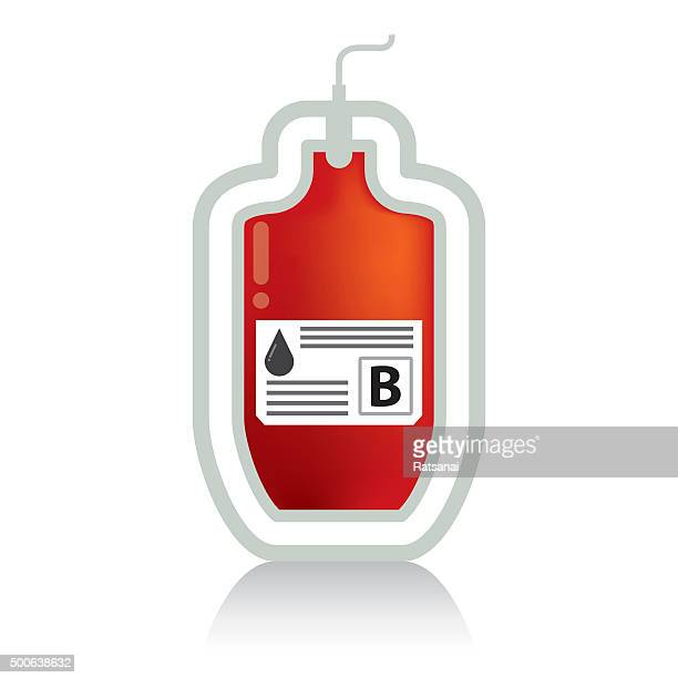 blood bag icon vector - blood bag stock illustrations, clip art, cartoons, & icons