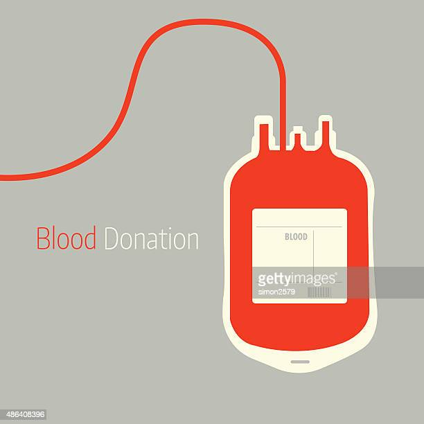 blood donation background - blood bag stock illustrations, clip art, cartoons, & icons