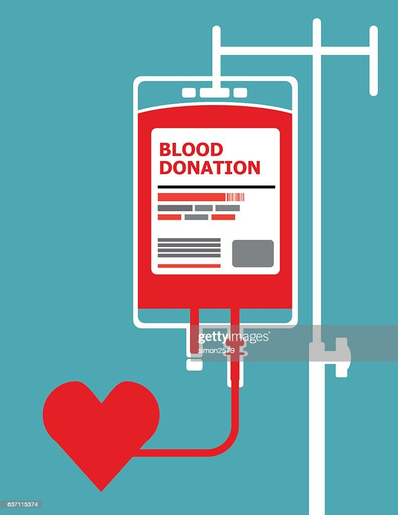 Blood Donation concept background