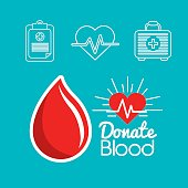 blood donation days icon