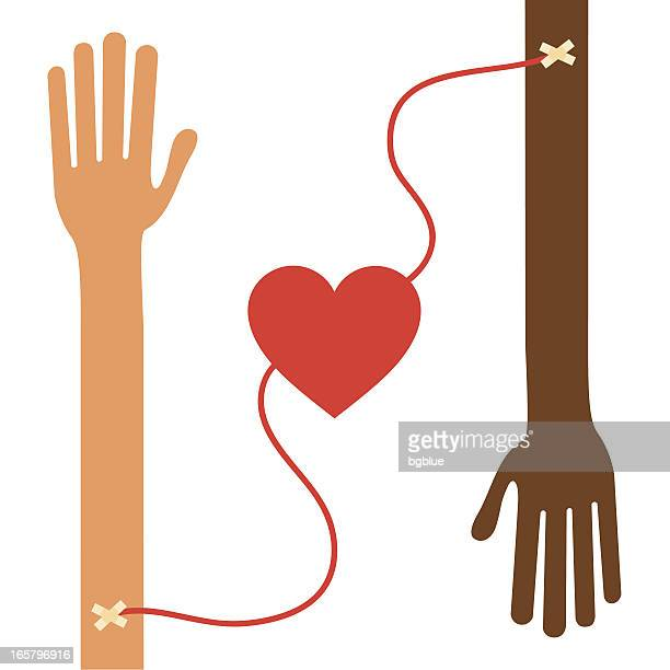 blood donation, transfusion - blood bag stock illustrations, clip art, cartoons, & icons