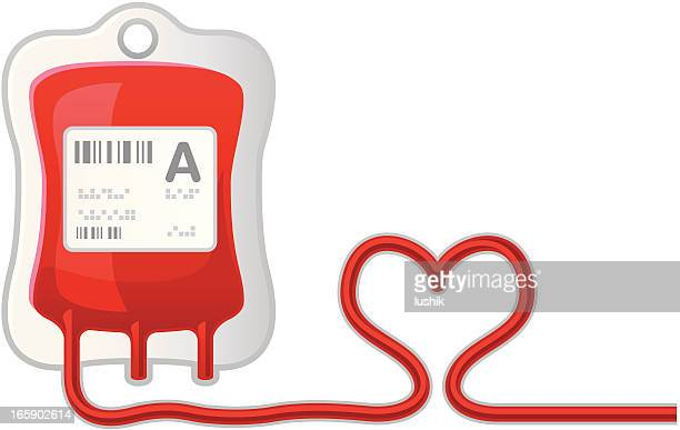 blood donor - blood bag stock illustrations, clip art, cartoons, & icons