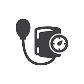 Blood pressure kit Icon