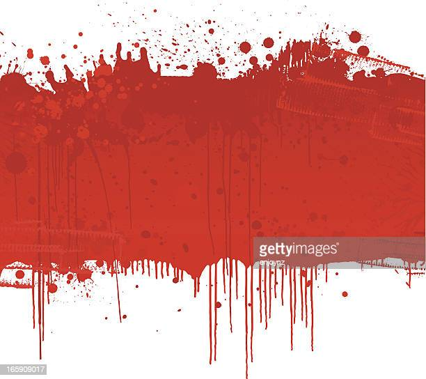 blood splatter background - blood stock illustrations, clip art, cartoons, & icons