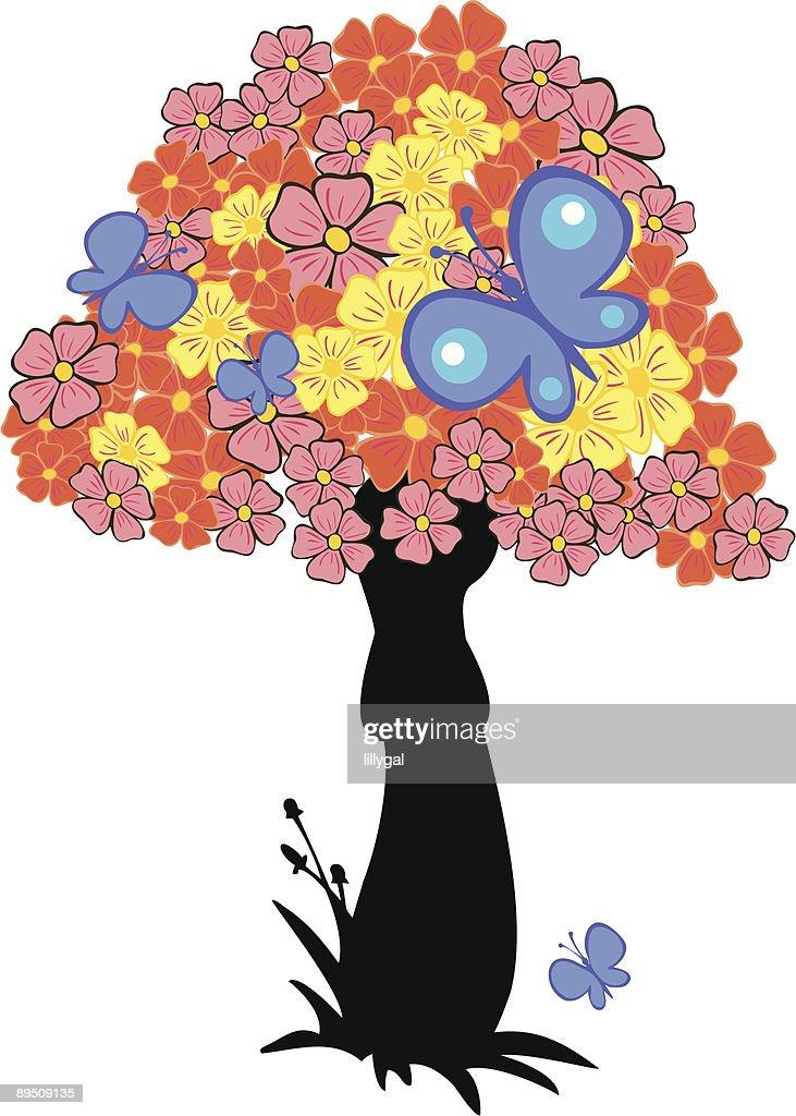 blooming mushroom