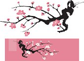 Blossom Tree - Oriental Style Painting