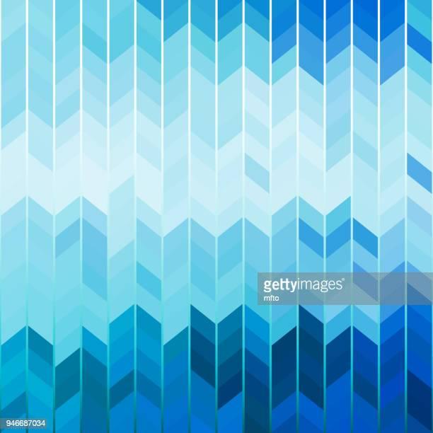 青の抽象的な背景 - 山形模様点のイラスト素材/クリップアート素材/マンガ素材/アイコン素材