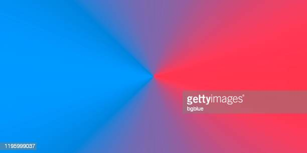 blue abstract background with radial gradient - red and blue background stock illustrations